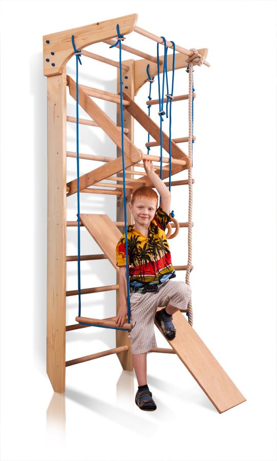 Espaldera de Fitness Kinder-3-240 Espaldera para Gimnasio Escalera Sueca Ni/ños de Juegos